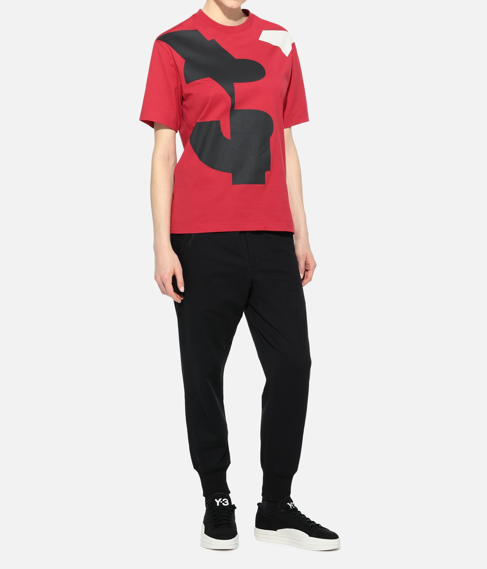 Y-3 Y-3 GRAPHIC TEE Short sleeve t-shirt Woman a