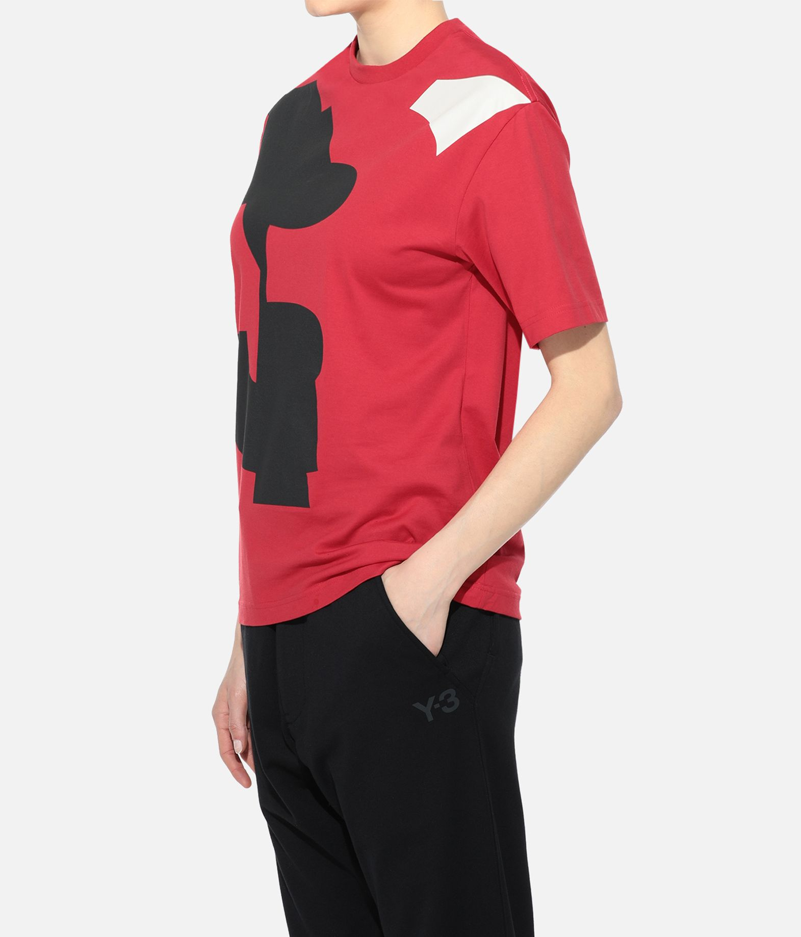 Y-3 Y-3 GRAPHIC TEE Футболка с короткими рукавами Для Женщин e
