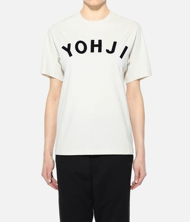 Y-3 Short sleeve t-shirt Woman Y-3 Yohji Letters Tee r