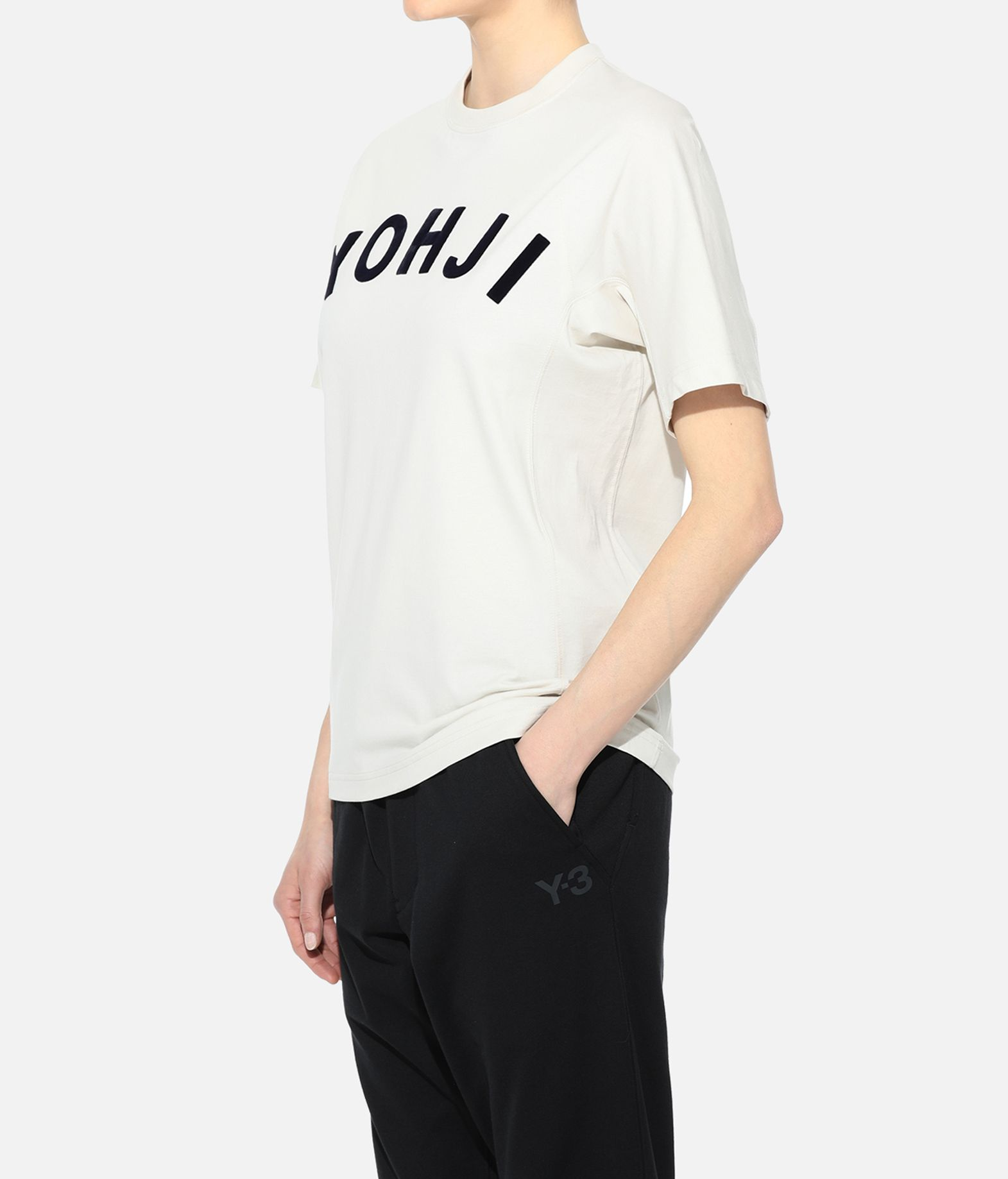 Y-3 Y-3 Yohji Letters Tee Short sleeve t-shirt Woman e