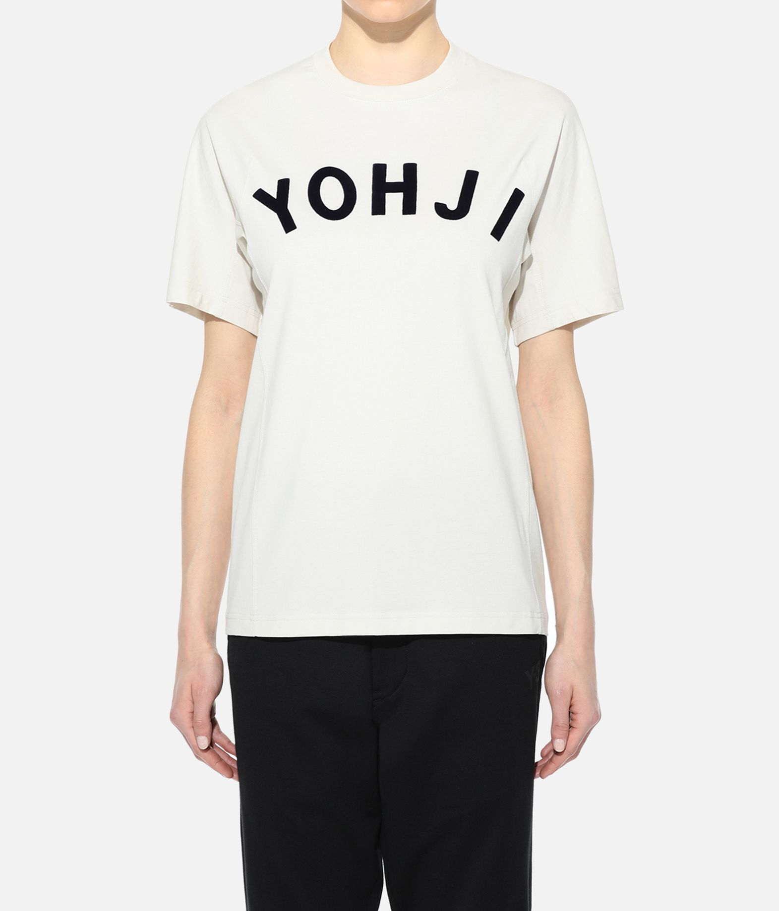 Y-3 Y-3 Yohji Letters Tee Short sleeve t-shirt Woman r