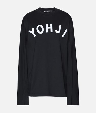 Y-3 Yohji Letters Tee