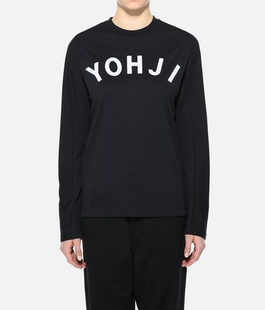 Y-3 Long sleeve t-shirt Woman Y-3 Yohji Letters Tee r