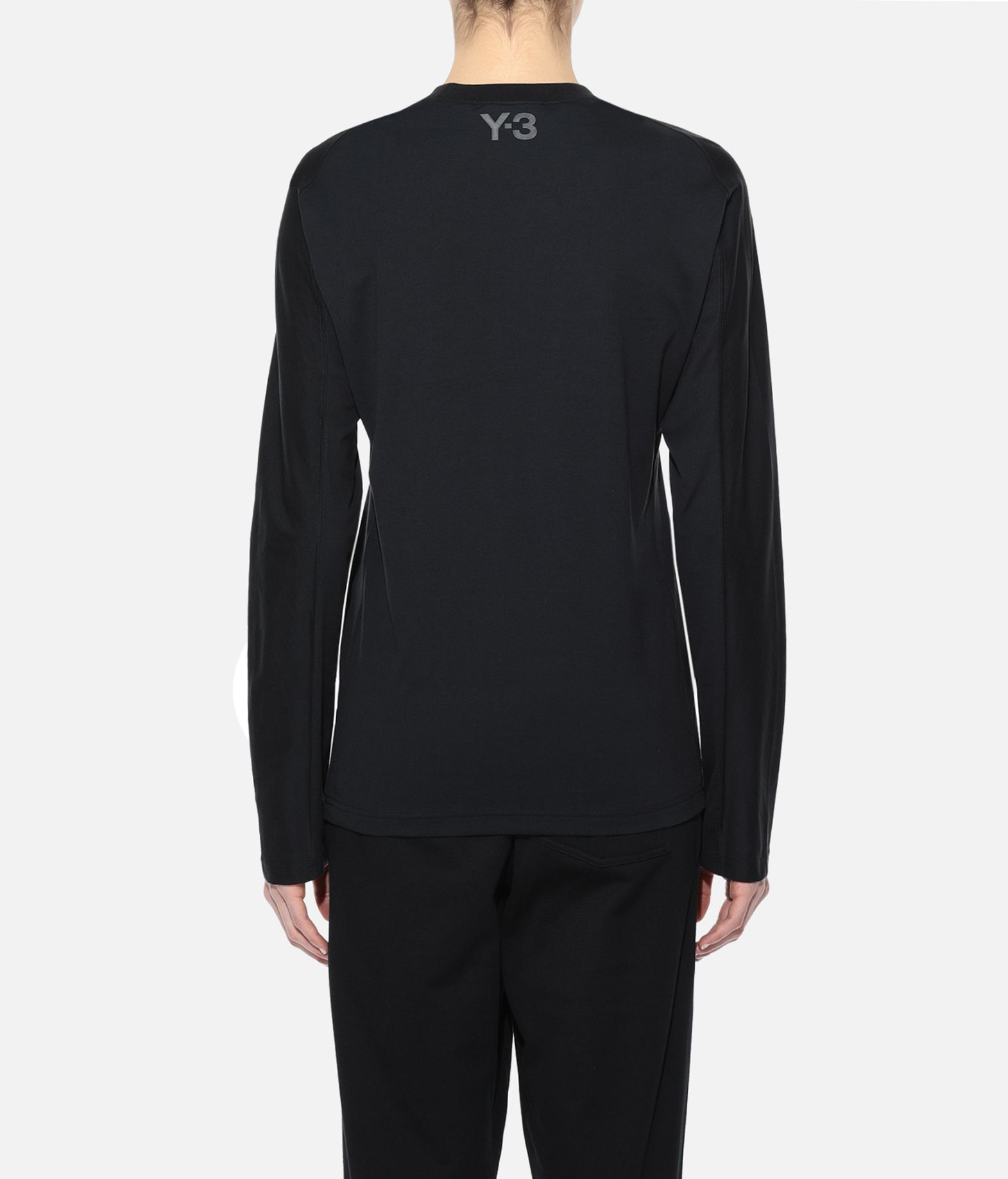 Y-3 Y-3 Yohji Letters Tee Long sleeve t-shirt Woman d