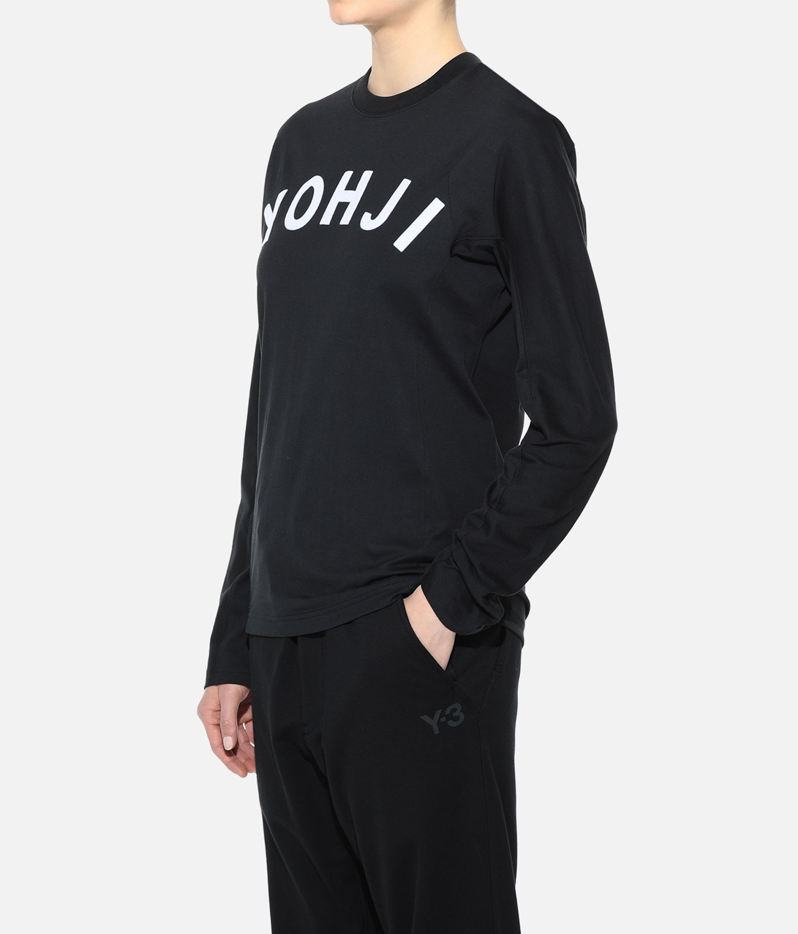 Y-3 Y-3 Yohji Letters Tee Long sleeve t-shirt Woman e