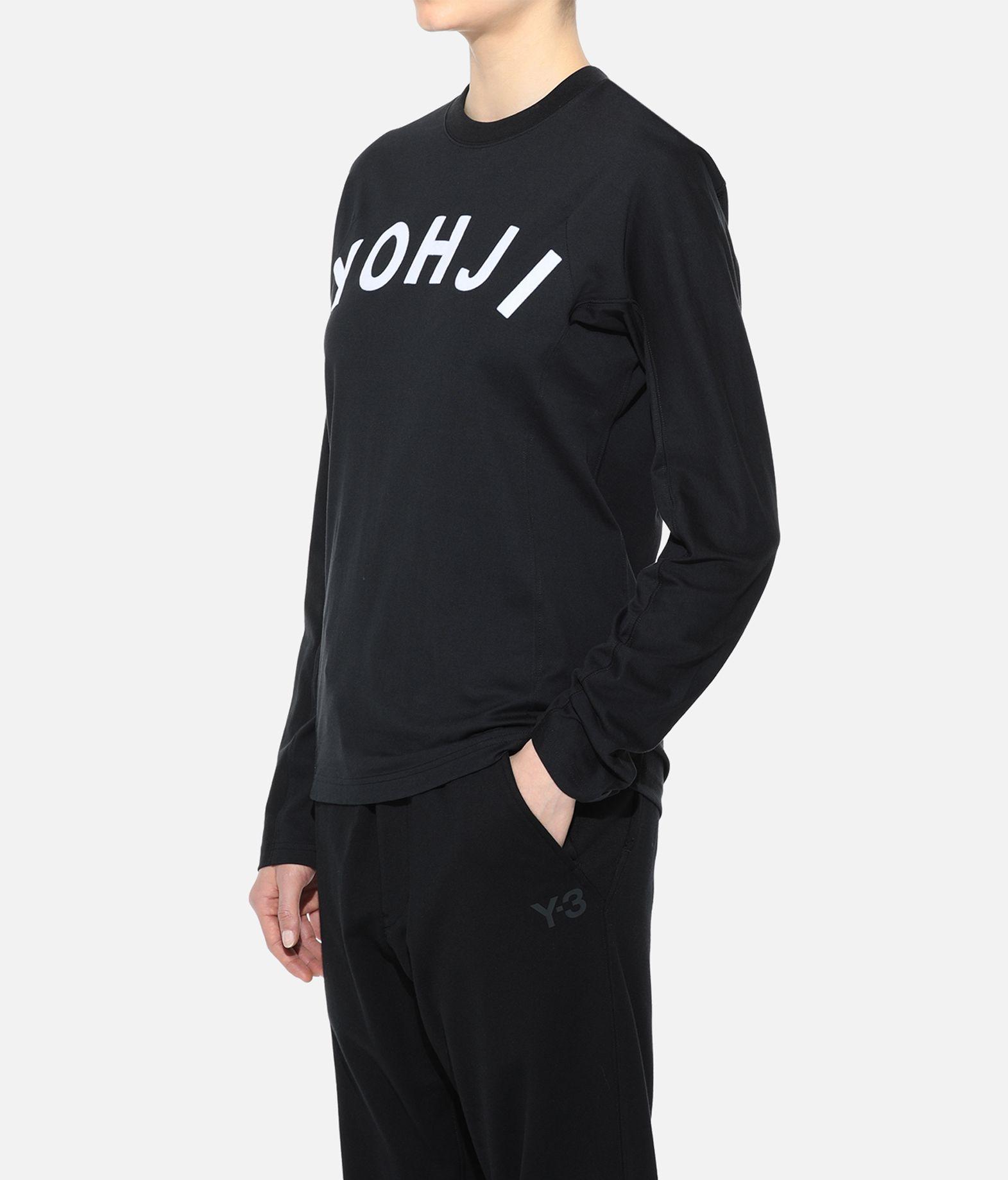Y-3 Y-3 Yohji Letters Tee T-shirt maniche lunghe Donna e