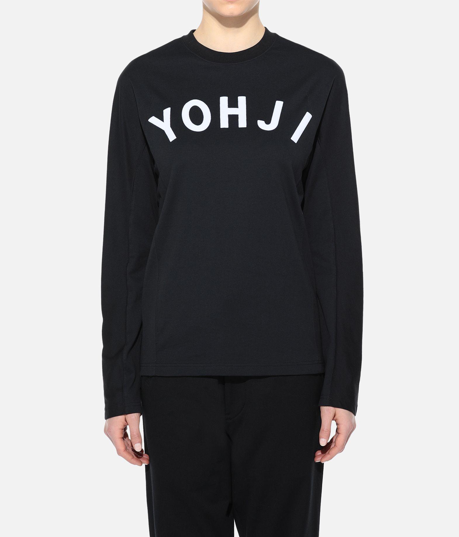 Y-3 Y-3 Yohji Letters Tee T-shirt maniche lunghe Donna r