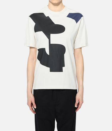 Y-3 Short sleeve t-shirt Woman Y-3 Varsity Tee r