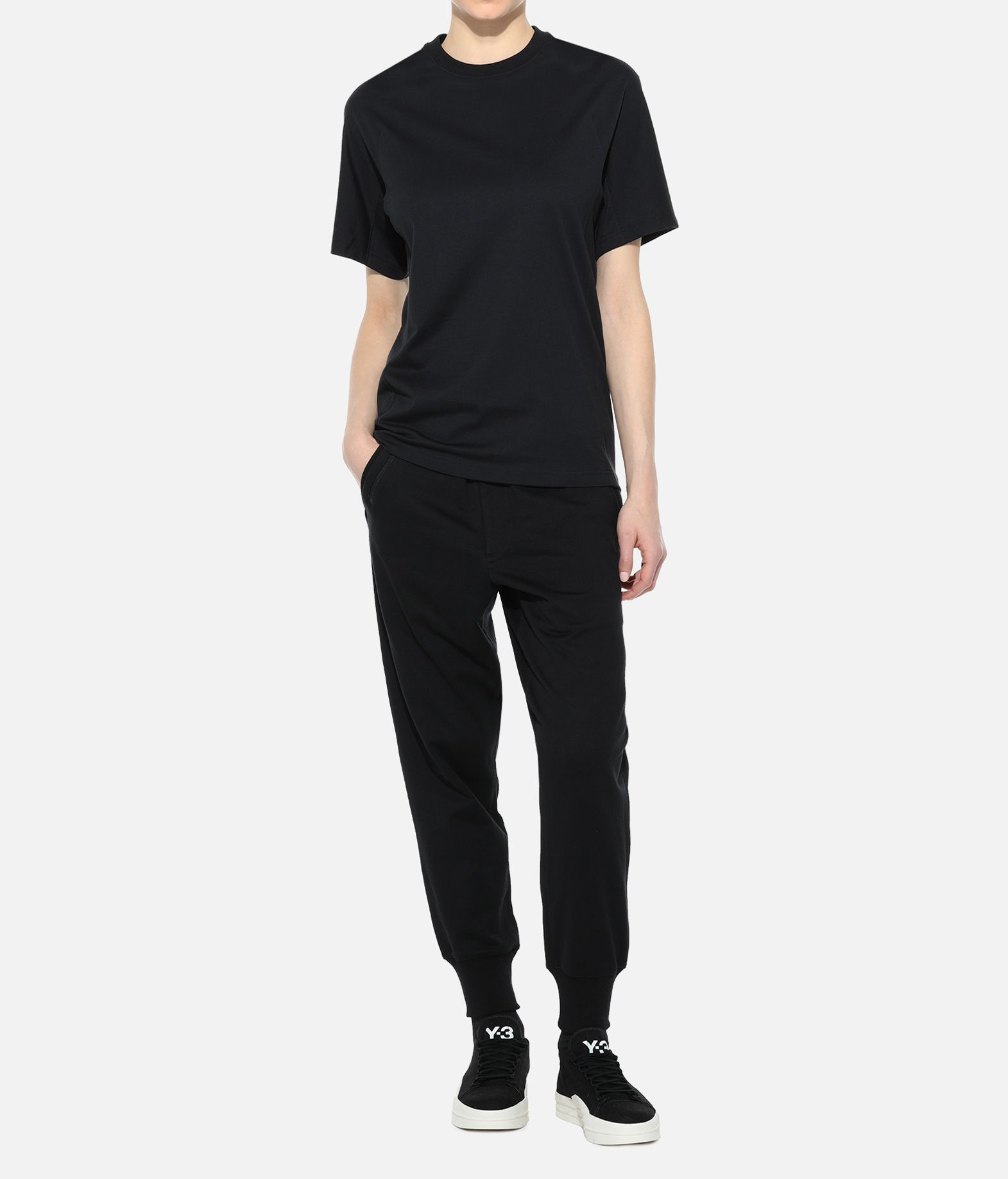 Y-3 Y-3 Classic Crewneck Tee Short sleeve t-shirt Woman a