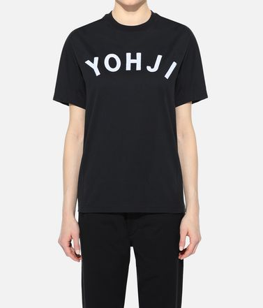Y-3 T-shirt manches courtes Femme Y-3 Yohji Letters Tee r