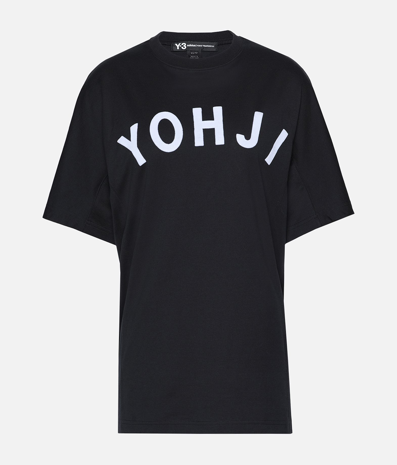 Y-3 Y-3 Yohji Letters Tee Short sleeve t-shirt Woman f