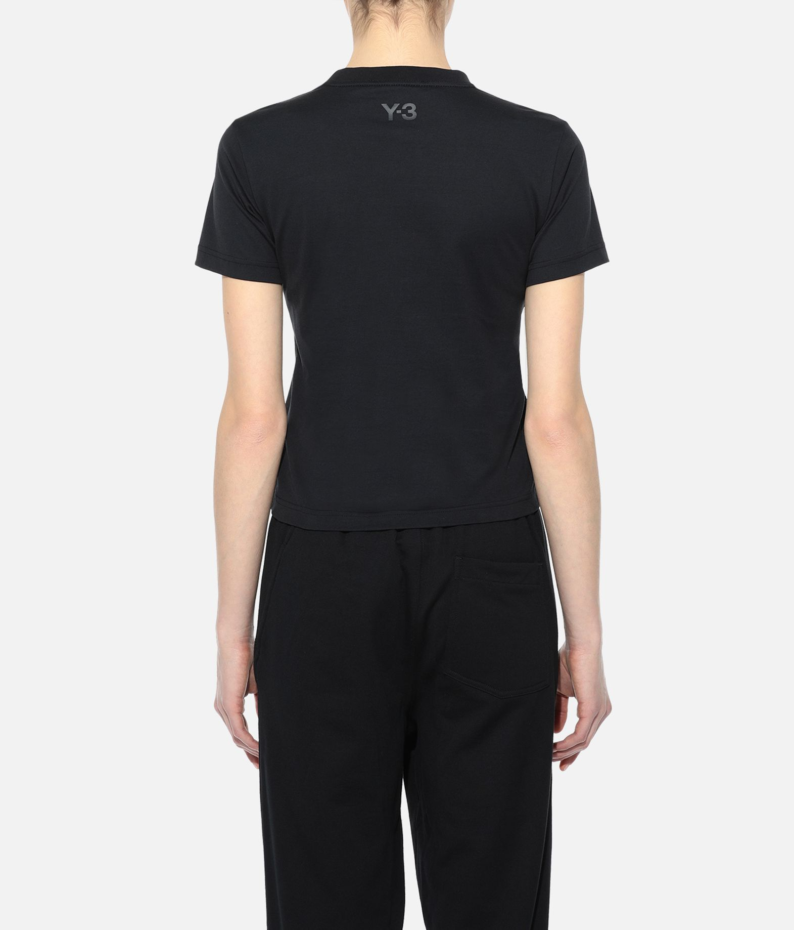 Y-3 Y-3 Yohji Letters Tee Short sleeve t-shirt Woman d
