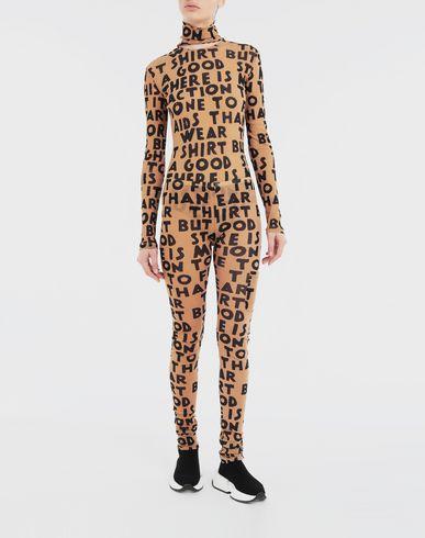 TOPS & TEES Charity AIDS-print bodysuit