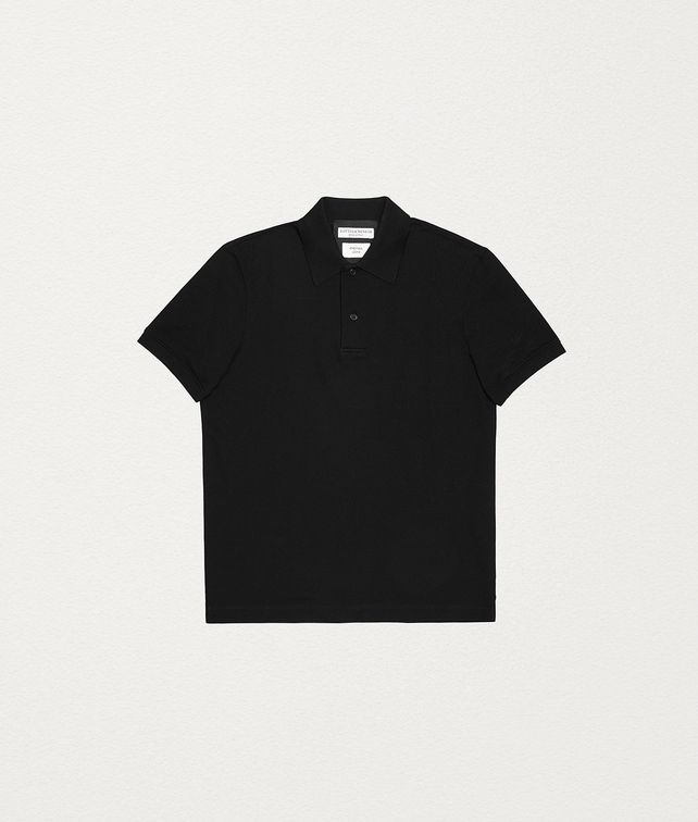 BOTTEGA VENETA POLO IN COTTON T-Shirts and Polos Man fp