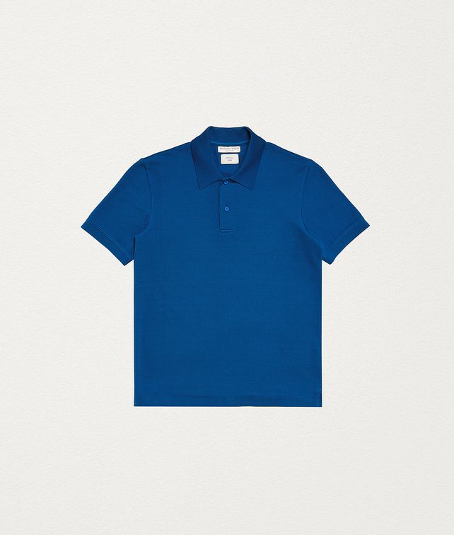 BOTTEGA VENETA POLO IN COTTON T-Shirt and Polo Man fp