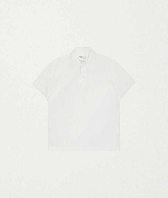 BOTTEGA VENETA POLO IN COTONE T-shirt e polo Uomo fp