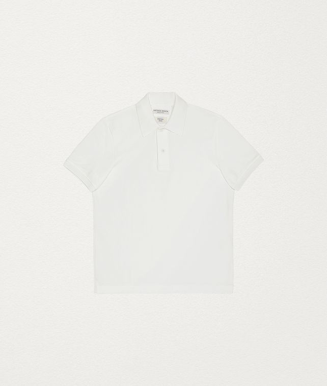 BOTTEGA VENETA POLO IN COTTON T-Shirts and Polos Man fp