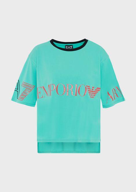 Train 7Colours stretch cotton T-shirt