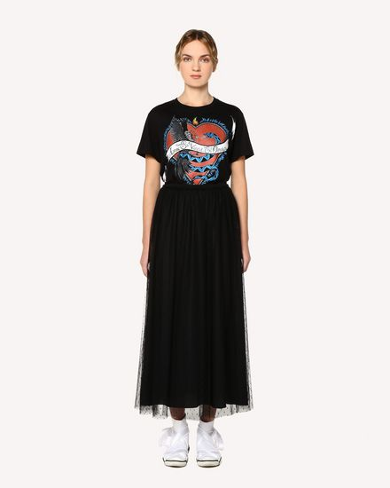 REDValentino T-Shirt Woman RR0MG01JSWK 0NO f