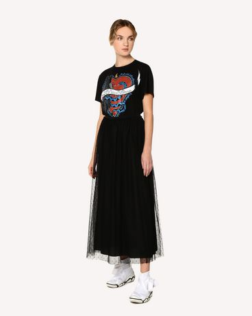 REDValentino RR0MG01JSWK 0NO T-Shirt Woman d