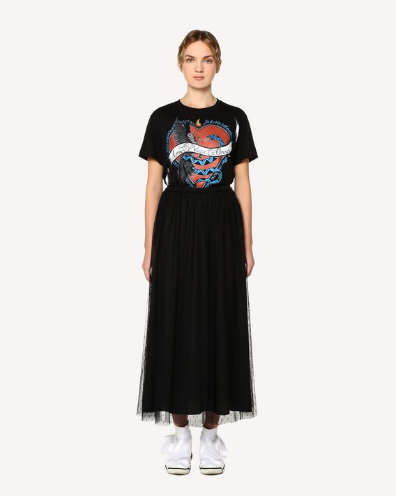 REDValentino Tattoo printed T-shirt