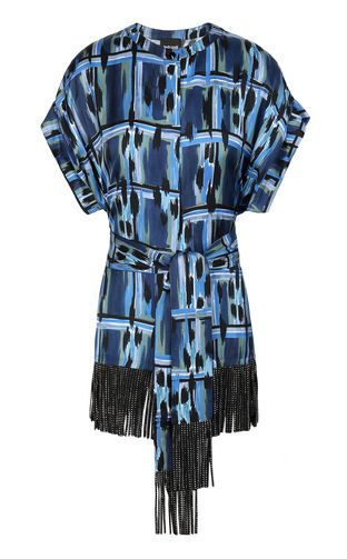 JUST CAVALLI Top Woman Top in faux leather f