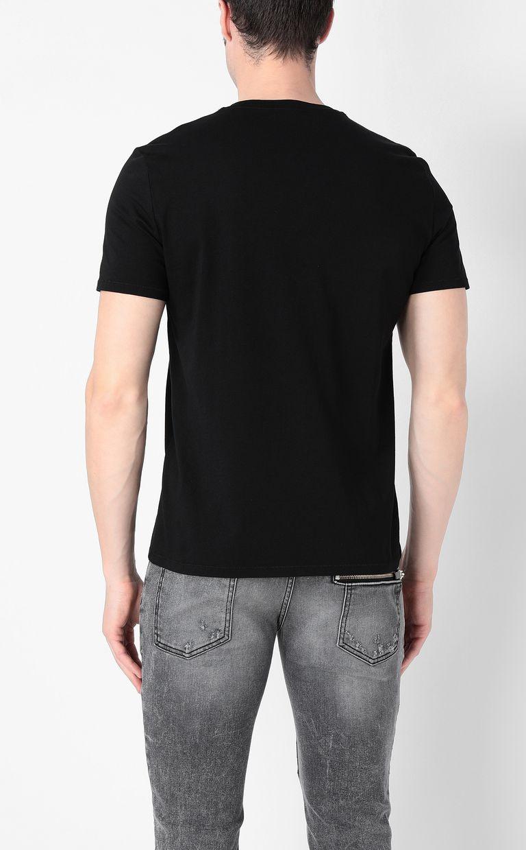 JUST CAVALLI Chain-skull t-shirt Short sleeve t-shirt Man a
