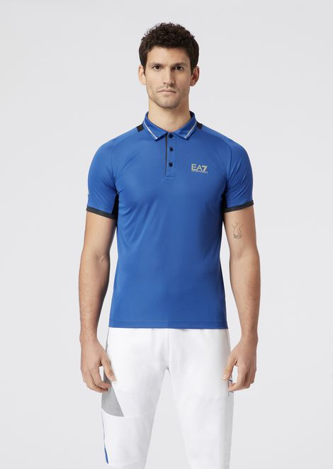 5826869557060 Tennis Pro polo in breathable fabric