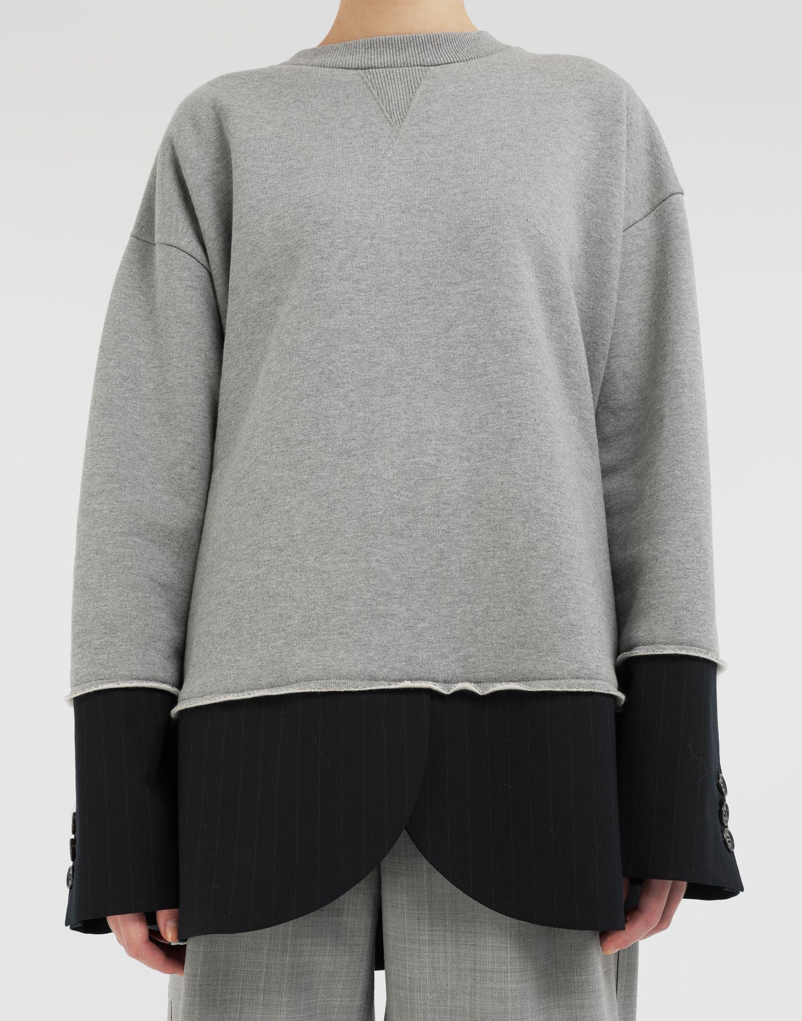 MM6 MAISON MARGIELA Spliced sweatshirt Sweatshirt Woman a