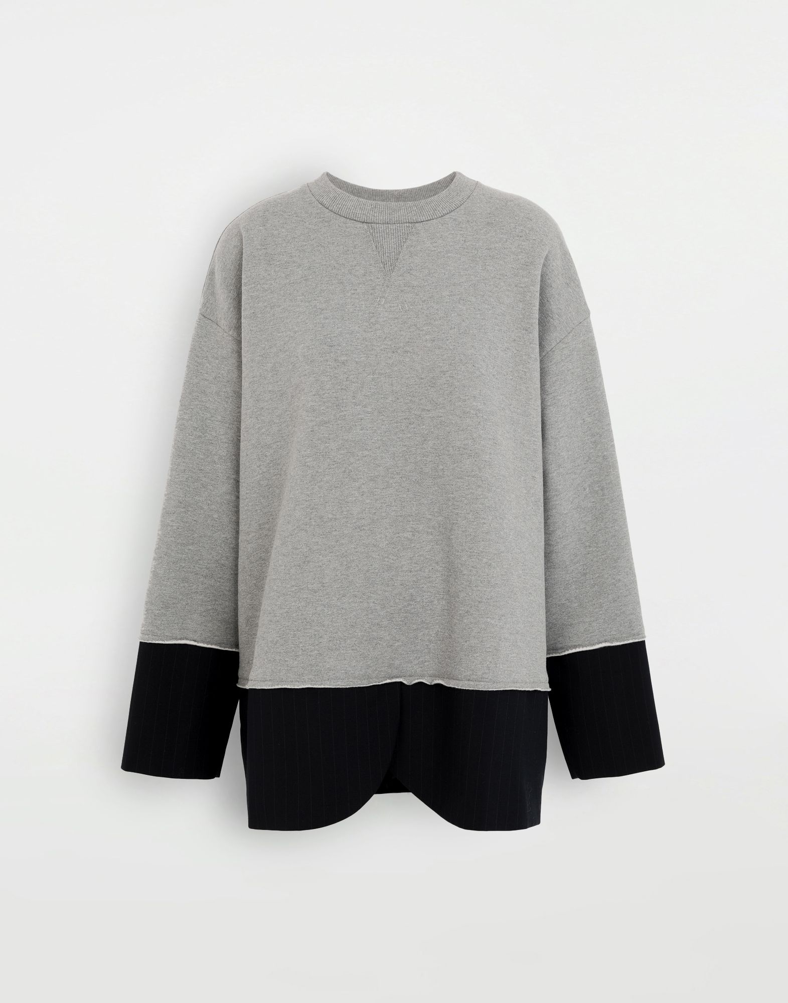 MM6 MAISON MARGIELA Spliced sweatshirt Sweatshirt Woman f