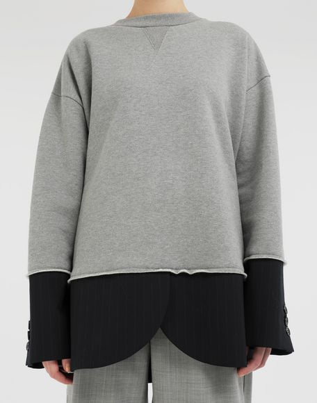 MM6 MAISON MARGIELA Spliced sweatshirt Sweatshirt Woman a