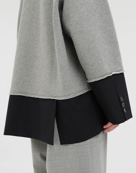 MM6 MAISON MARGIELA Spliced sweatshirt Sweatshirt Woman b