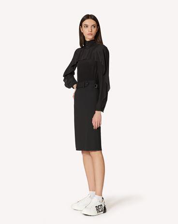 REDValentino SR3ABB2023H 0NO Рубашка Для Женщин d