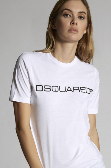 DSQUARED2 Short sleeve t-shirt Woman S75GD0023S22427100 m