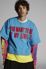 DSQUARED2 You Want To Be At My Level Sweatshirt Sweatshirt Man