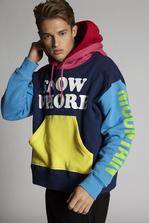 DSQUARED2 Snow W***e Hooded Sweatshirt Sweatshirt Man