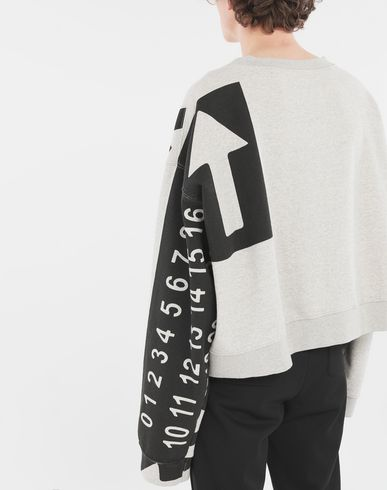 SWEATERS 'Fragile' sweatshirt Grey