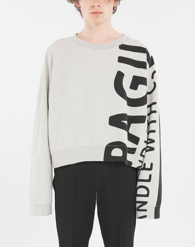MAISON MARGIELA Sweatshirt Man 'Fragile' sweatshirt r