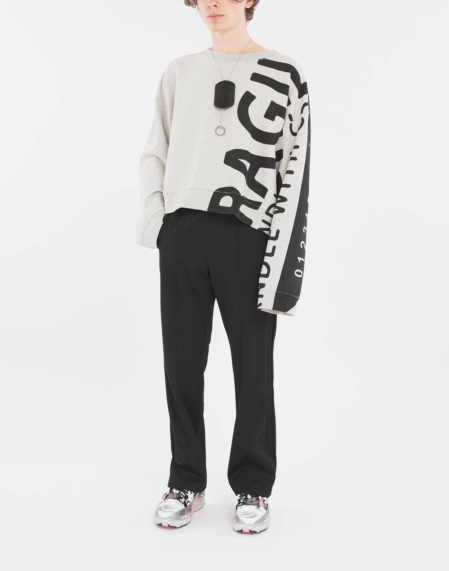 MAISON MARGIELA 'Fragile' sweatshirt Sweatshirt Man d