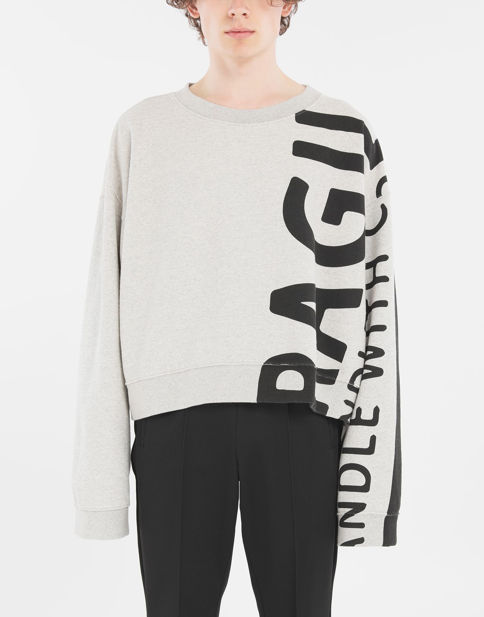 MAISON MARGIELA Sweatshirt 'Fragile' Sweatshirt Herr r