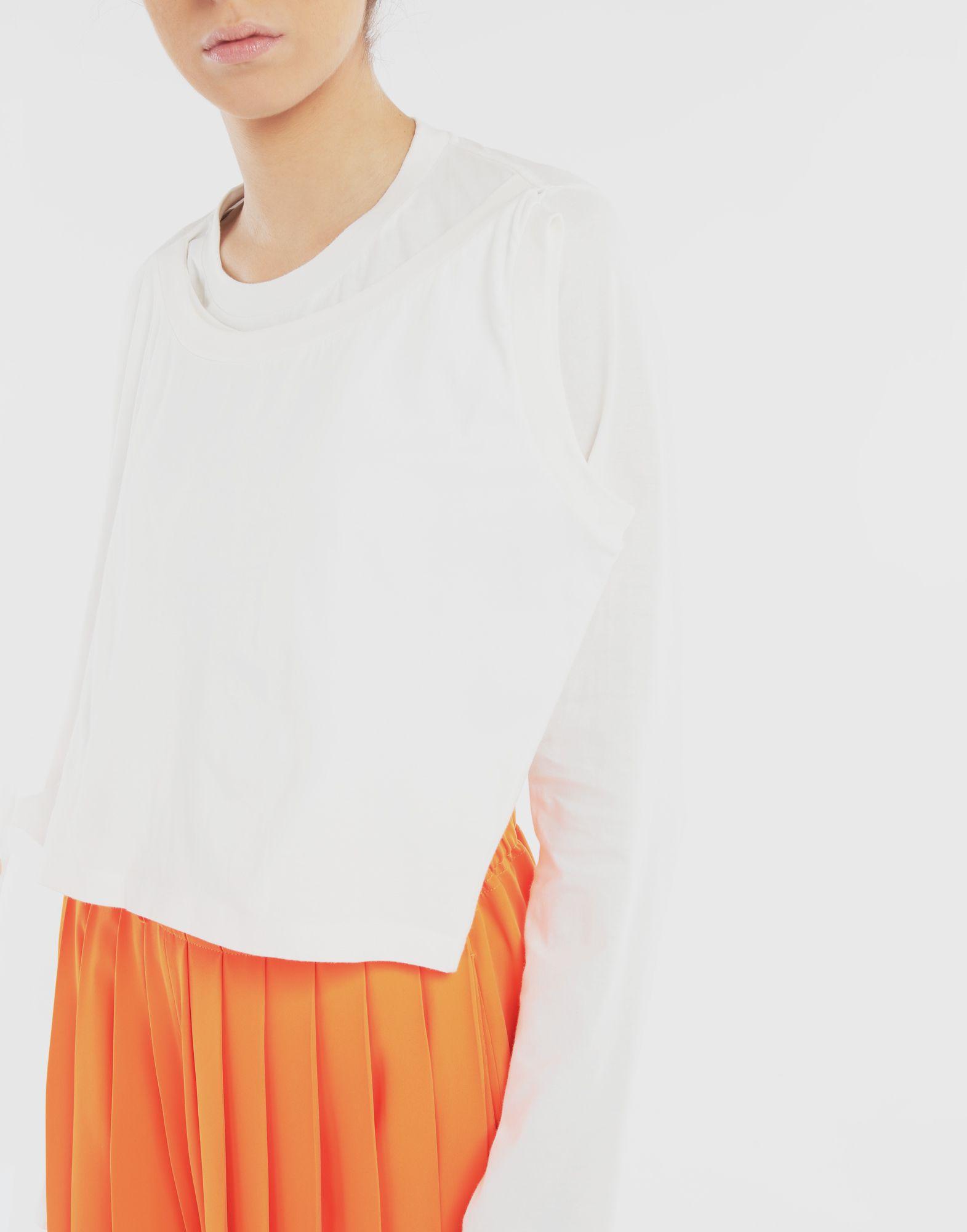 MM6 MAISON MARGIELA Double layer top Long sleeve t-shirt Woman b