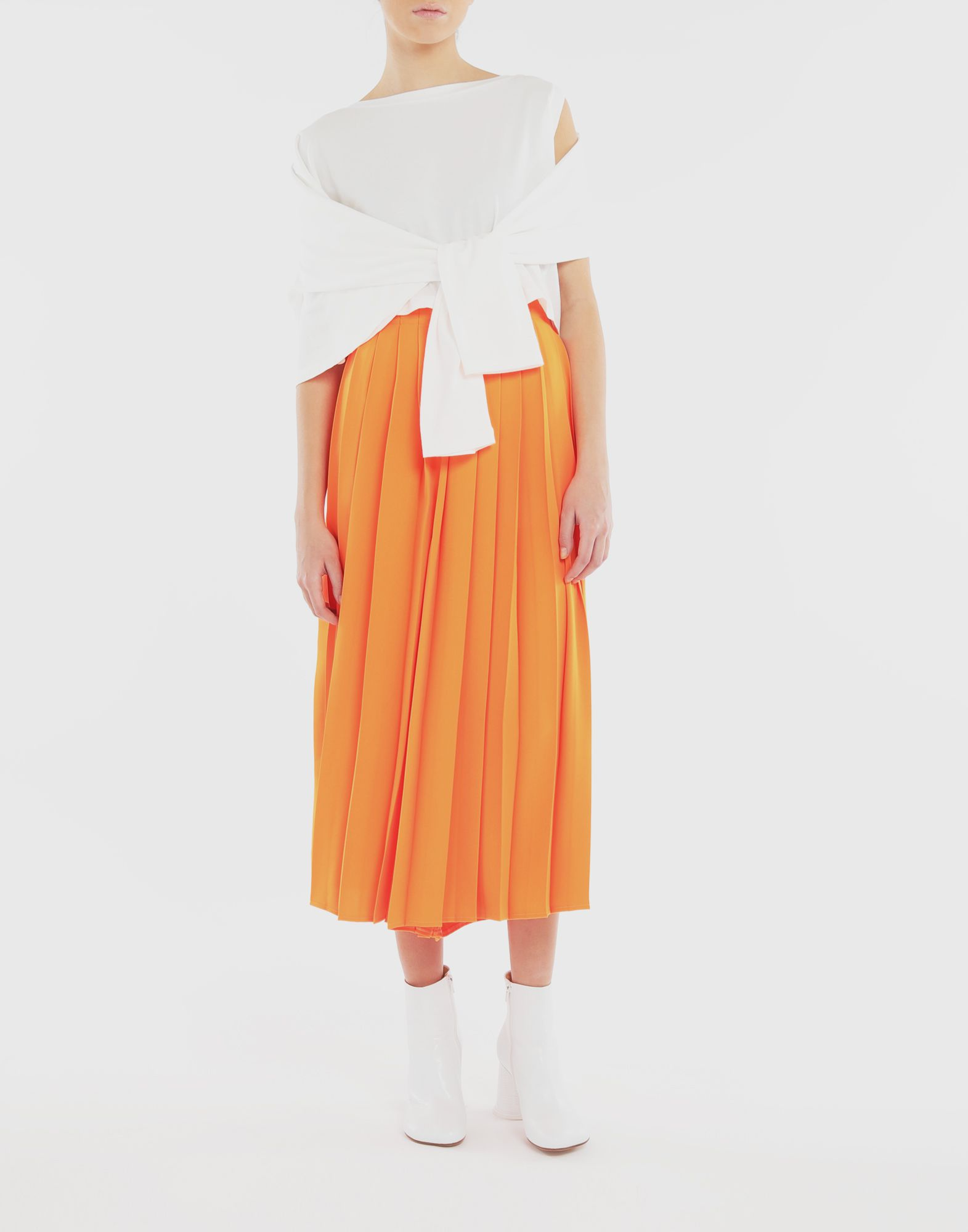 MM6 MAISON MARGIELA Double layer top Long sleeve t-shirt Woman d