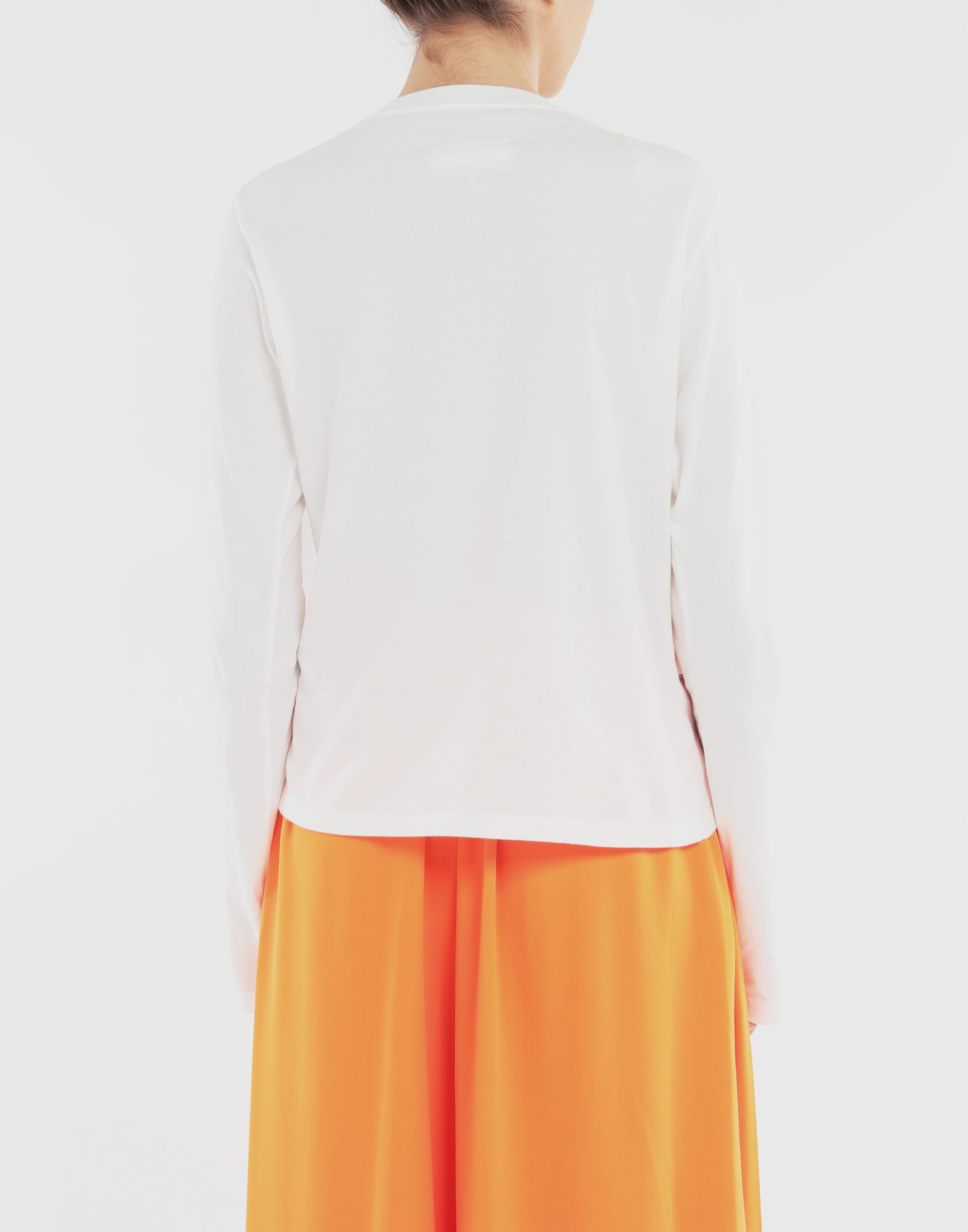 MM6 MAISON MARGIELA Double layer top Long sleeve t-shirt Woman e