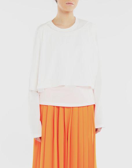 MM6 MAISON MARGIELA Haut double T-shirt manches longues Femme r