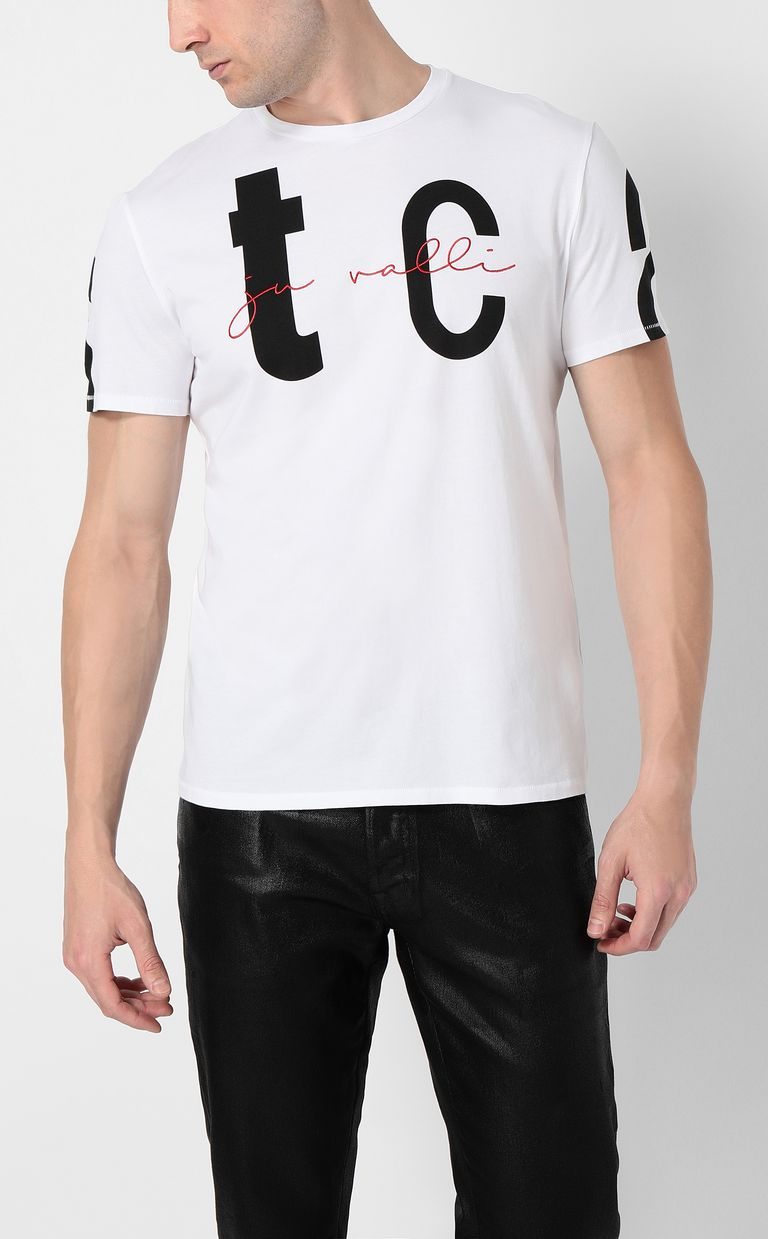JUST CAVALLI T-shirt with STCA logo Short sleeve t-shirt Man r