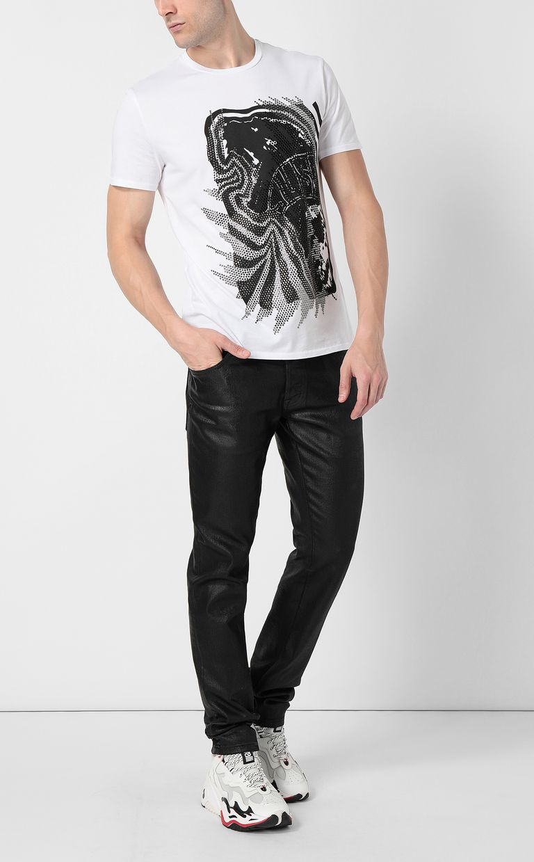 "JUST CAVALLI ""Tiger Roar"" t-shirt Short sleeve t-shirt Man d"