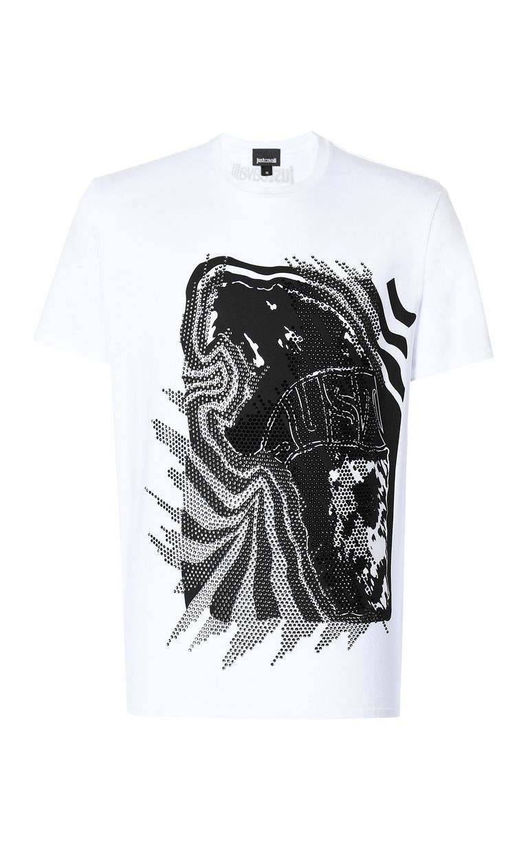 "JUST CAVALLI ""Tiger Roar"" t-shirt Short sleeve t-shirt Man f"