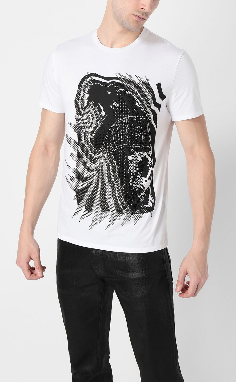"JUST CAVALLI ""Tiger Roar"" t-shirt Short sleeve t-shirt Man r"