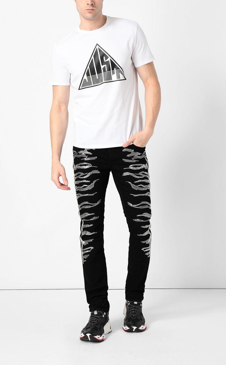 JUST CAVALLI T-shirt with Just logo Short sleeve t-shirt Man d