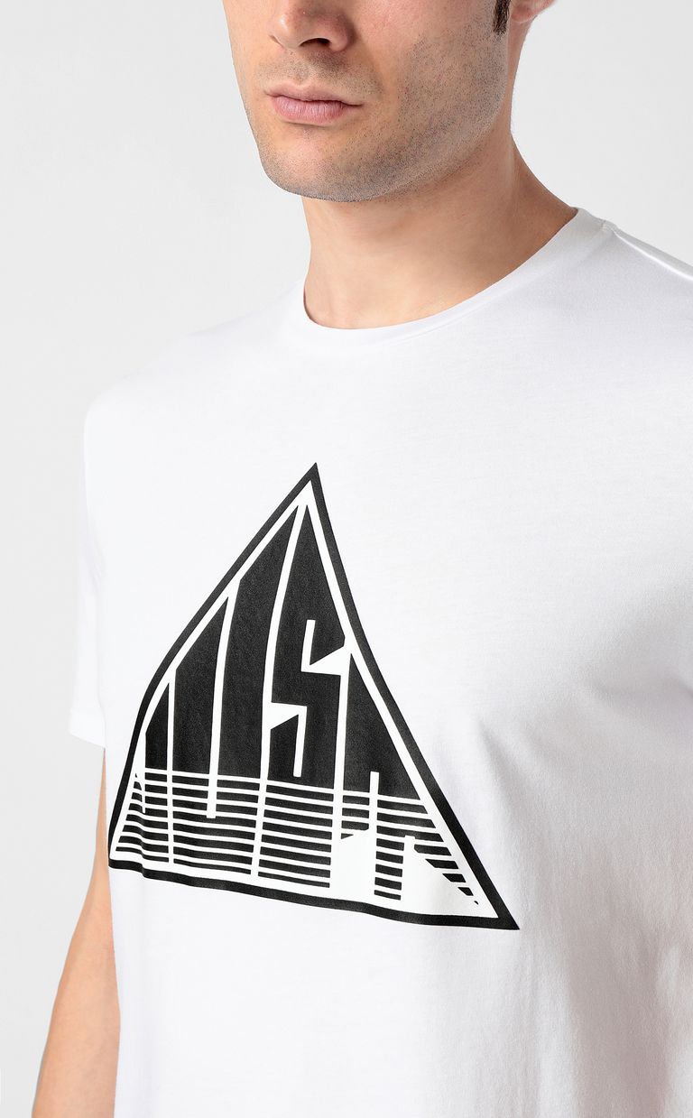 JUST CAVALLI T-shirt with Just logo Short sleeve t-shirt Man e